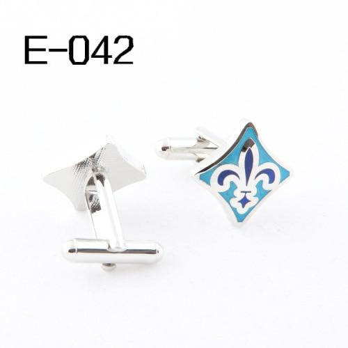 FashionCufflinks Novelty cufflinks for men  Enamel  2014Cuff Links Wholesales E042