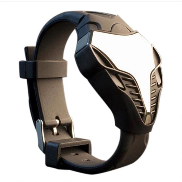 Практичные светодиодные часы, цифровые модные мужские часы Cobra, силиконовые часы с циферблатом Железного человека, спортивные наручные час...