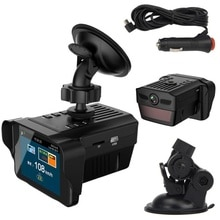 2 IN 1 Car Speed Laser Police Dog Radar Detector GPS Voice Alert Safety Car GPS Speed Radar Detector Scanning Voice Alert Laser