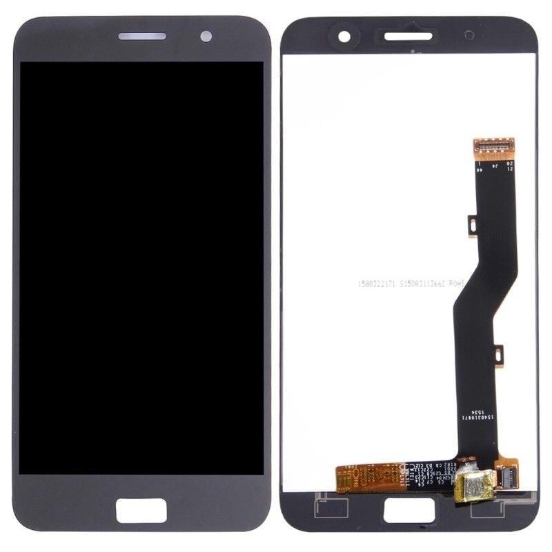 Для Lenovo ZUK Z1 5,5 дюймов ЖК-дисплей дигитайзер панель сенсорного экрана в сборе Белый Черный с бесплатными инструментами