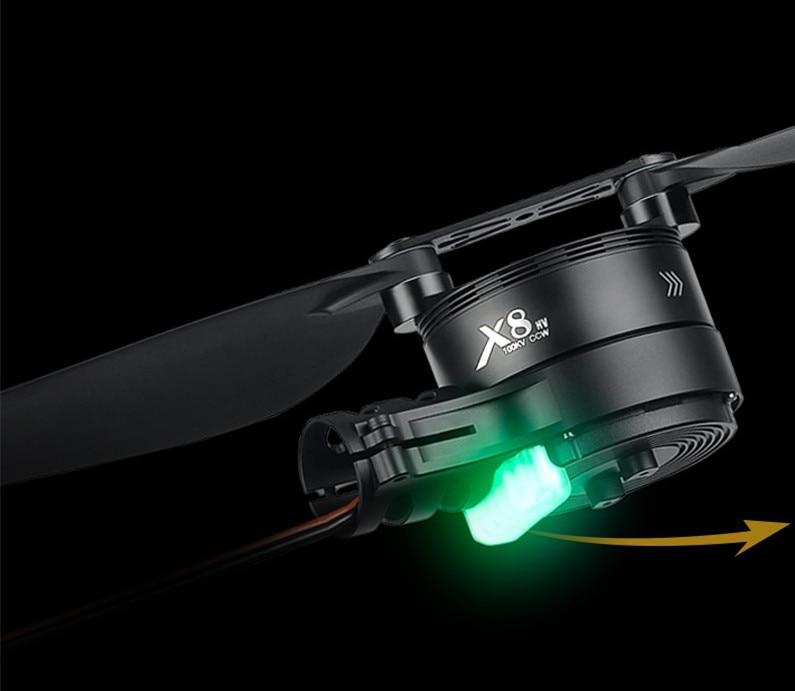 Hobbywing X8 FOC المتكاملة نظام دفع الطاقة 3090 CW CCW المروحة ل 30/35/40 مللي متر أنبوب الكربون الحمولة طائرات بدون طيار الزراعية