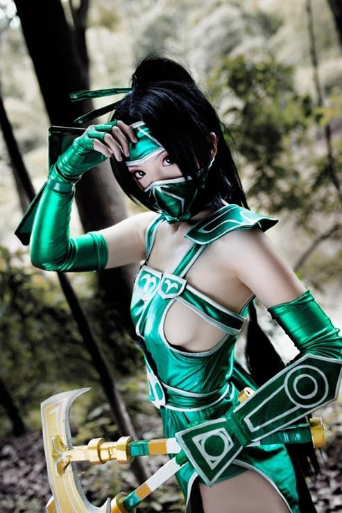 En existencia LOL cuero de PU hecho a medida Akali el puño de la sombra disfraz de cosplay LOL uniforme vestido Sexy disfraz de Halloween para las mujeres