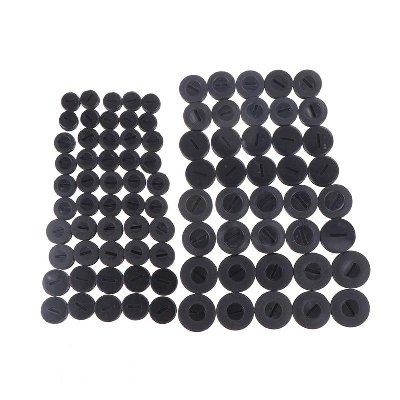 Top Quality 10pcs Black Plastic Screw Carbon Brush Holder Caps Case Dia. 12mm/13mm/14mm/15mm / 16mm/17mm/18mm/20mm/22mm