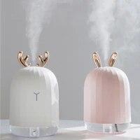 Diffuseur ultrasonique dhuile essentielle darome dhumidificateur dair de brume fraiche pour le fabricant de brume de brumisateur dusb de voiture a la maison avec des lumieres de couleur