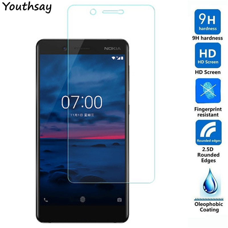 2pcs Glass For Nokia 7 Phone Screen Protector Explosion-proof Thin Tempered Glass For Nokia 7 Glass