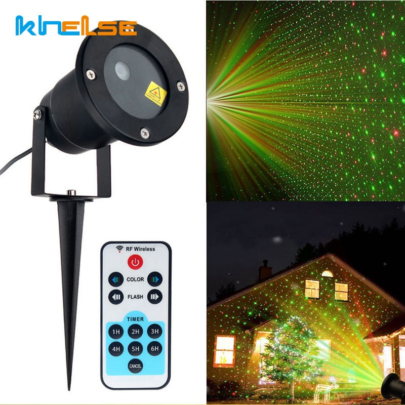Laser Lights Star Projector Remote Christmas LED Garden Laser Projector Lights Static IP65 Outdoor Party Xmas Landscape Light new mini snowfall projector christmas lights outdoor projector ip65 moving head laser snow led stage light for xmas party lights