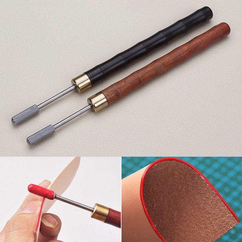 Herramienta de tratamiento de aceite, nuevo DIY, para bordes de cuero, accesorios de cuero para pintura al óleo