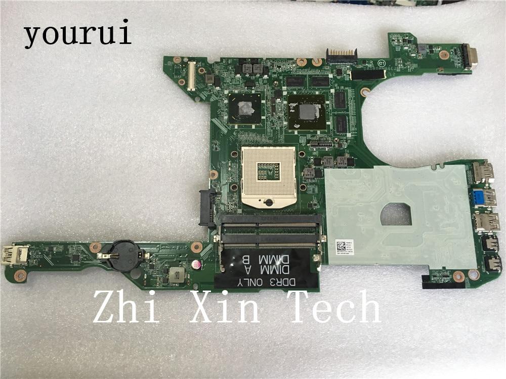 yourui For Dell Inspiron 14R 5420 7420 Laptop Motherboard RHTCK 0RHTCK CN-0RHTCK  DA0R08MB6E2 DDR3 Test all functions 100%