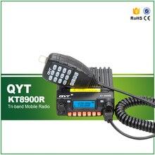 KT8900R TRI-BAND 200CH émetteur-récepteur Radio pour véhicule Mobile + micro CTCSS/DCS/5 tons + câble de programmation et logiciel