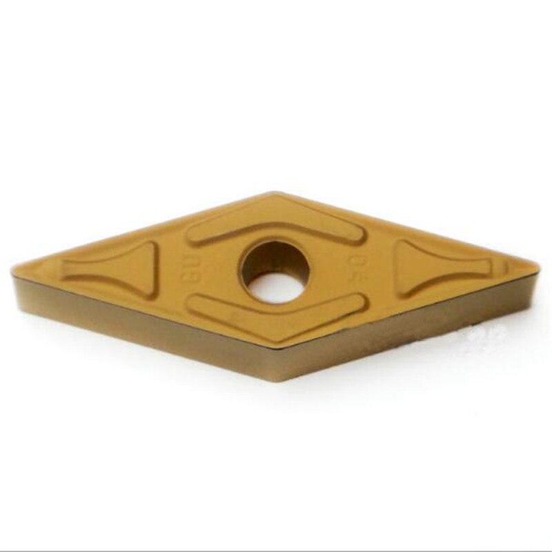 VNMG160408N-GU ac830p, inserção original do carboneto, torneamento ferramenta titular chato barra mini máquina cnc insere 10 peça