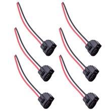 DWCX Car 6pcs Ignition Coil Connector Pigtail Plug Harness 90980-11246 Fit For Toyota 4Runner Camry Celica MR2 Lexus LS400 SC400