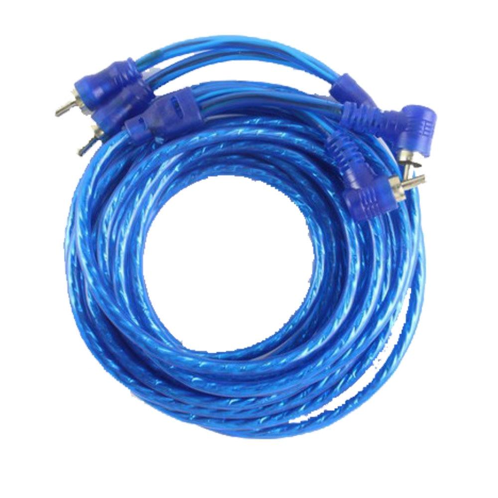 AMPLIFICADOR DE Subwoofer de Audio para coche 5 m AMP cableado portafusibles Cable Kit Cable FM Cable amplificador subwoofer