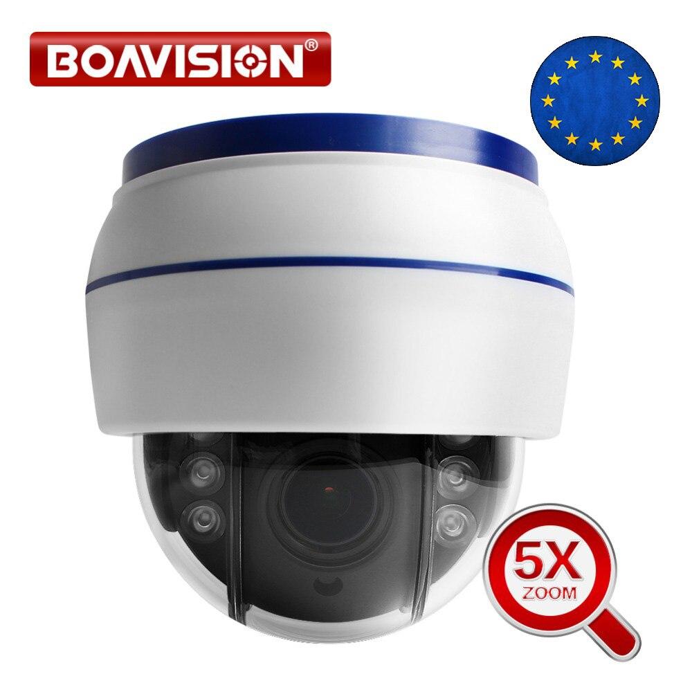 HD 1080P Беспроводная PTZ IP камера, Wifi, купольная камера видеонаблюдения, Onvif 5X оптический зум, внутренняя аудио sd-карта, IR 20 м, P2P CamHi