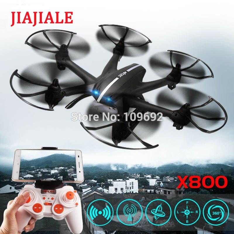 Frete grátis mjx x800 2.4g 4ch 6-axis uav quadcopter rtf zangão rc helicóptero pode adicionar c4005 wifi câmera fpv & c4002 vs h20 h107d