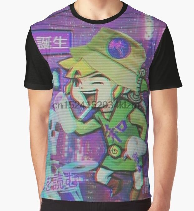 All Over Print T-Shirt Men Funy tshirt W I N D W A K E R  Short Sleeve O-Neck Tops Tee women t shirt