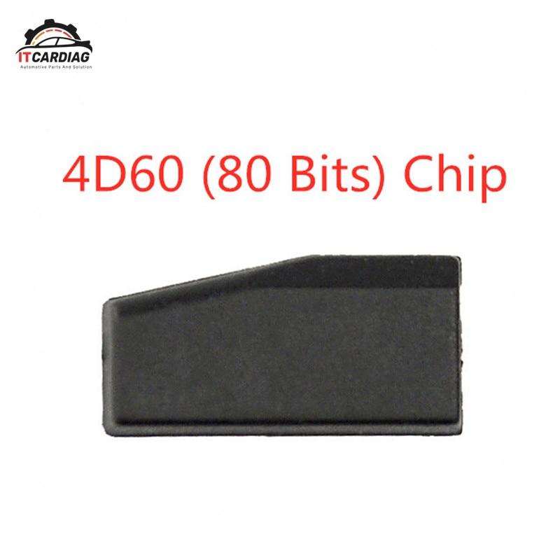 4D60 80 Bits en blanco Ceremic Chip TP06 de carbono Chip transpondedor de llave de coche ID60 80Bit para ford para Nissan para Kia Toyota