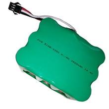 2 pièces 14.4 V Ni-MH 3500 mAh Robot de balayage sous vide batterie Rechargeable pour batterie KV8/510B/S350/Z520CleannaXR210