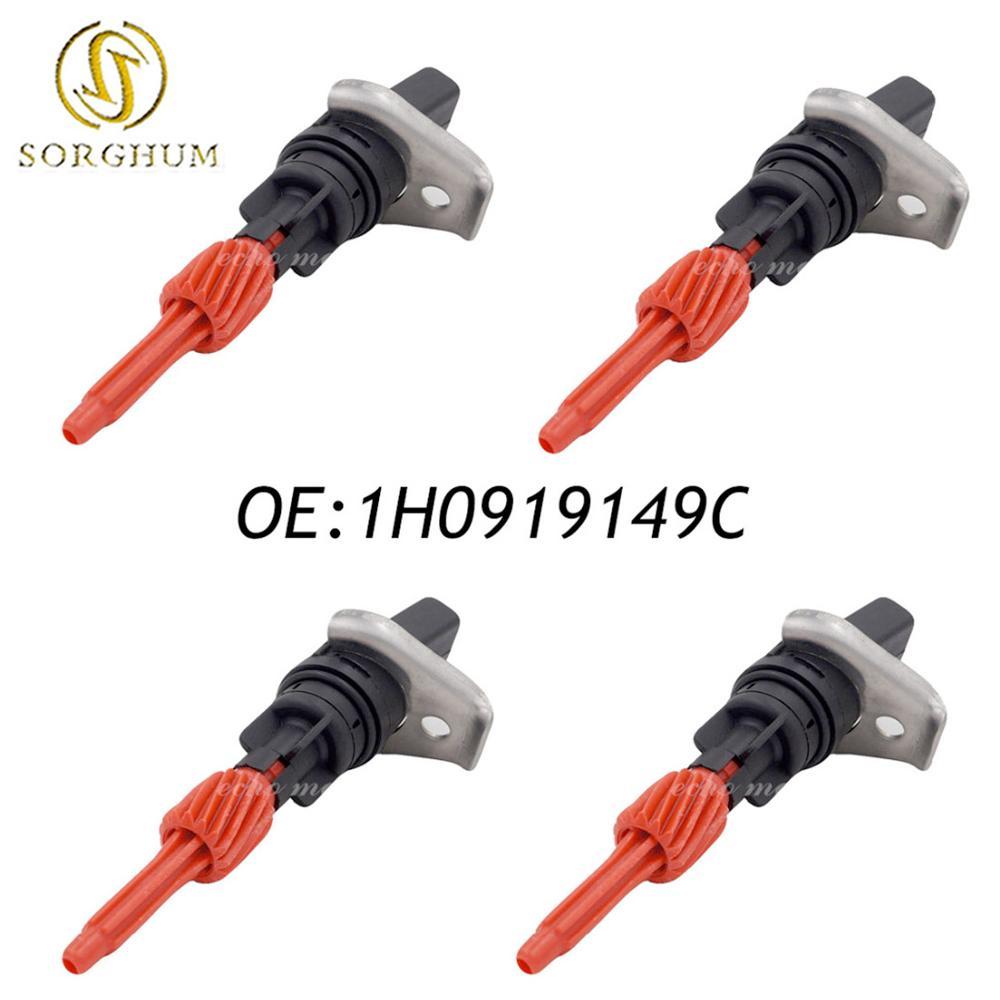 4 Uds frente sensor de velocidad de odómetro 1H0919149C para 1997-2011 AUDI A3 S3/SKODA Octavia/asiento Ibiza/Jetta VW Caddy Golf (CGQVW006