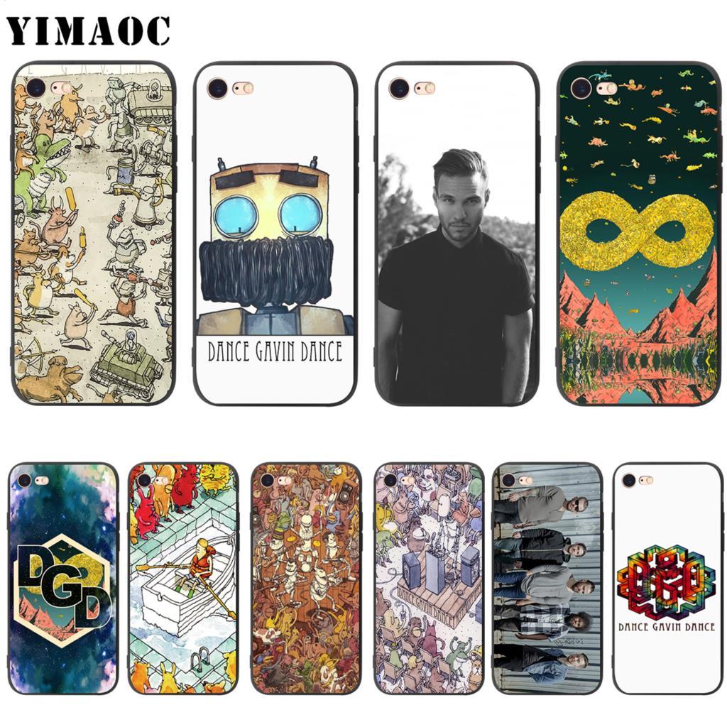 Funda YIMAOC de silicona suave para bailar para iPhone 11 Pro XS Max XR X 8 7 6 6S Plus 5 5S se