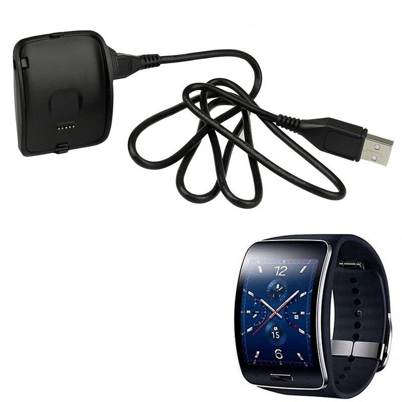 Cargador USB base cargador para Samsung Galaxy Gear S reloj inteligente SM-R750 FM