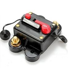 1 pçs áudio rresettable fusível disconnector elétrico 200a dc12v interruptor de carro conveniente para carro barco marinho bicicleta st
