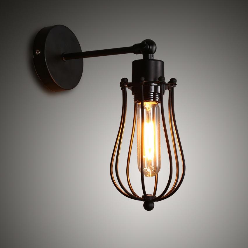 Envío Gratis, lámpara de pared vintage americana, lámpara colgante Industrial de latón, lámpara Edison, lámpara de pared, lámpara de pared AC110- 220V, iluminación de interior