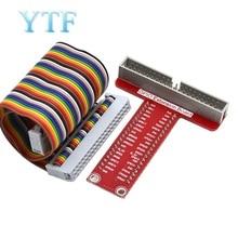 Raspberry Pi 3B+/4B Accessories T type GPIO Expansion Board 40P cable