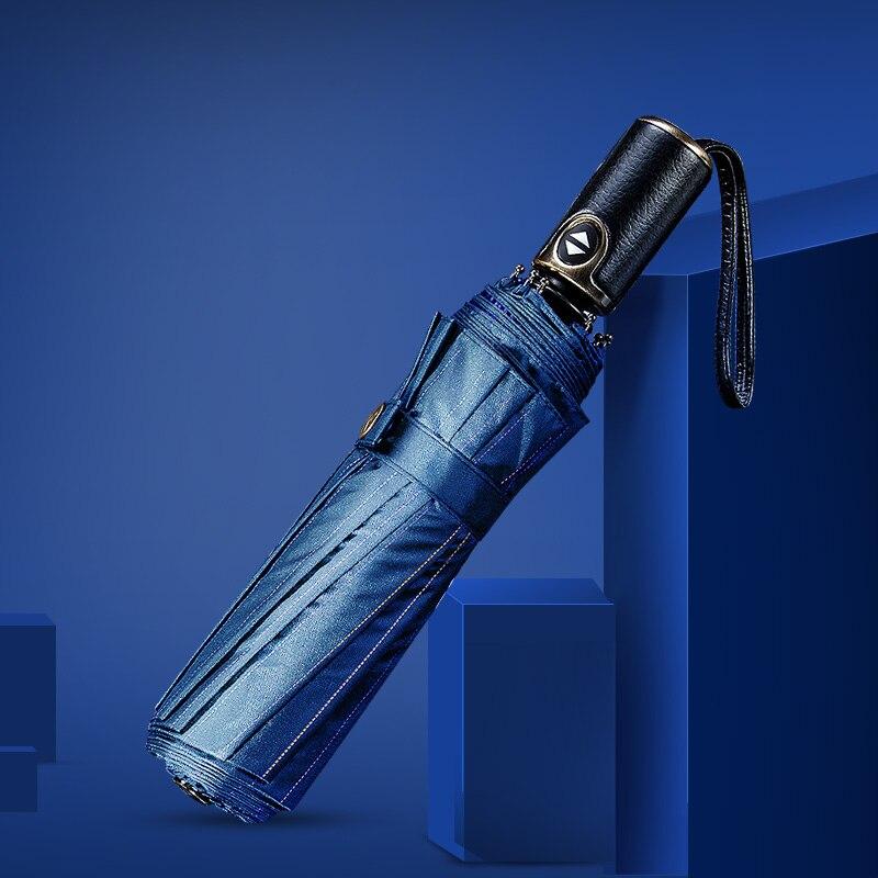 Автоматический складной зонт большой мужской rain10 ribs ветрозащитный uv TTK бренд водонепроницаемый мужской зонт авто мужской зонт от солнца ко...