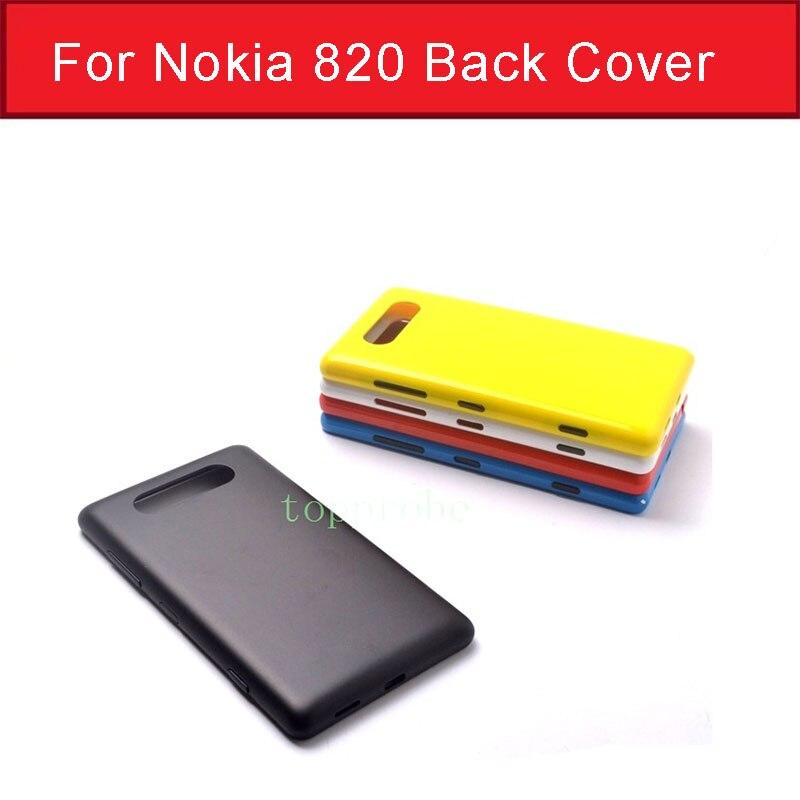 Funda trasera para Nokia 820, carcasa de batería para Microsoft lumia Nokia...