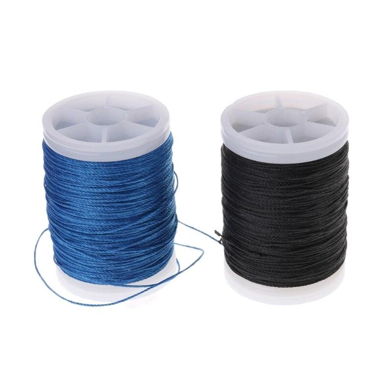 120m cuerda de arco de servir hilo compuesto arco recurvo fibra arquería cuerda de protección