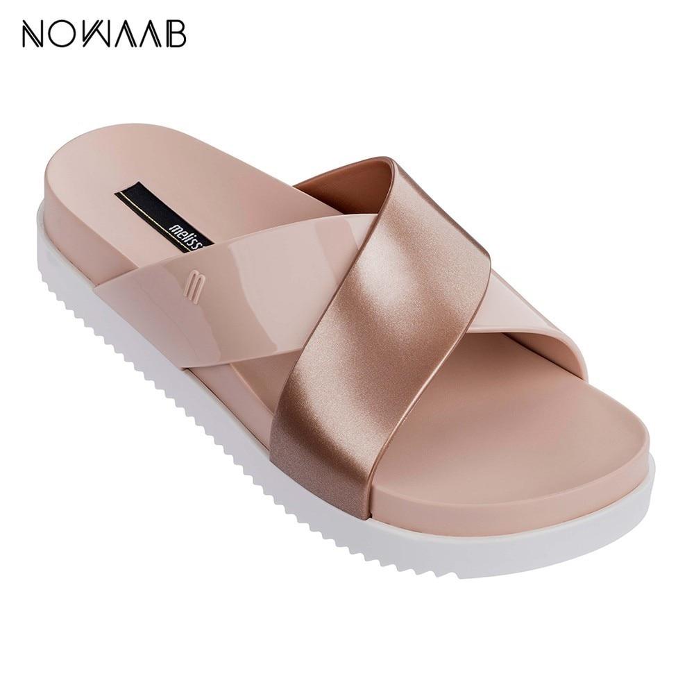 Melissa cosmique II 2019 femmes gelée sandales Melissa Adulto chaussures pour femmes gelée sandales femme gelée chaussures Mulher tongs