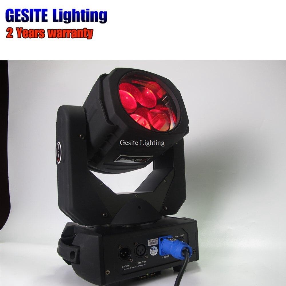 6pcs/lot Super brightness performance dj indoor color full 25w 4pcs scan beam moving head party light