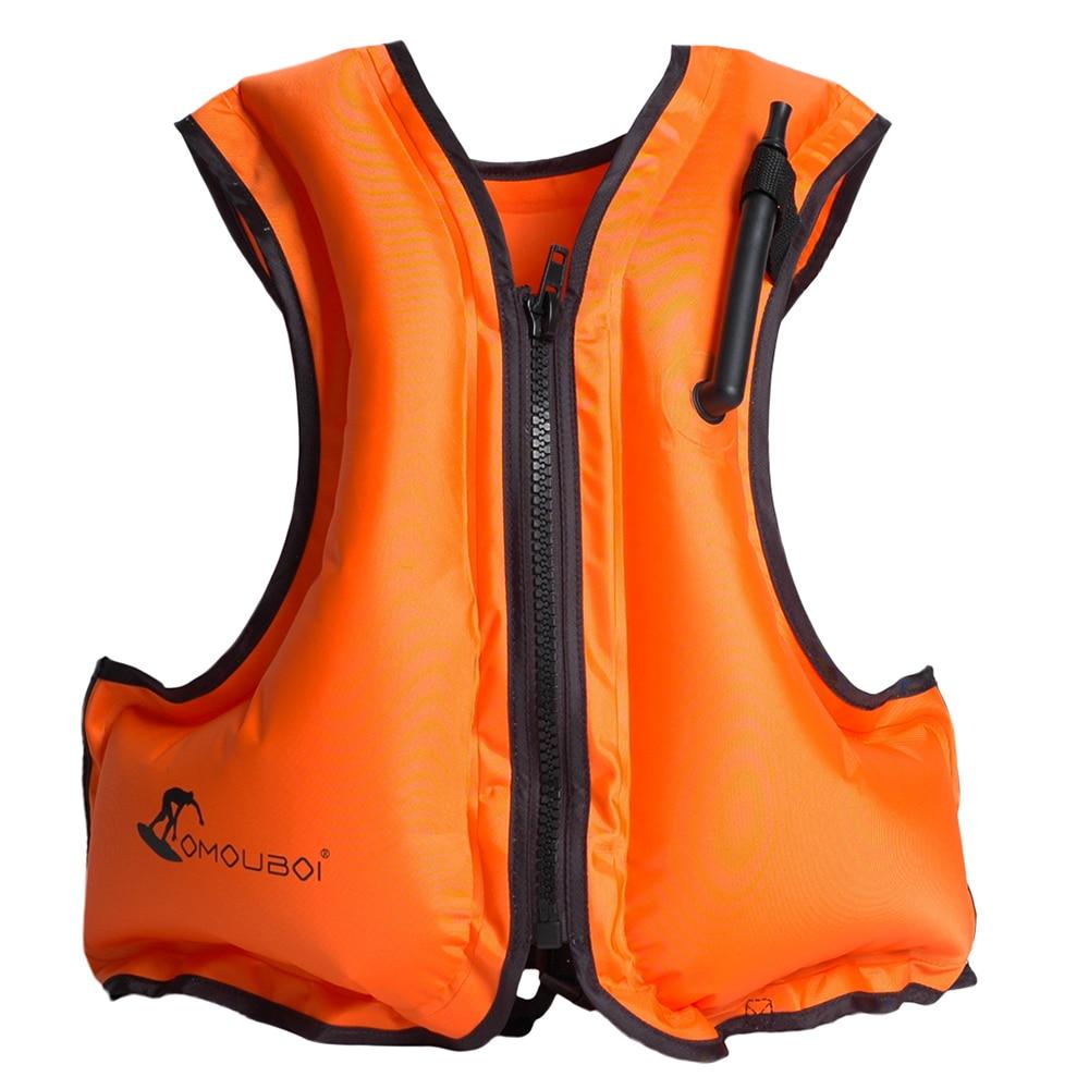 Natação colete salva-vidas adulto inflável nadar colete salva-vidas snorkeling flutuante surf esportes aquáticos salva-vidas jaqueta