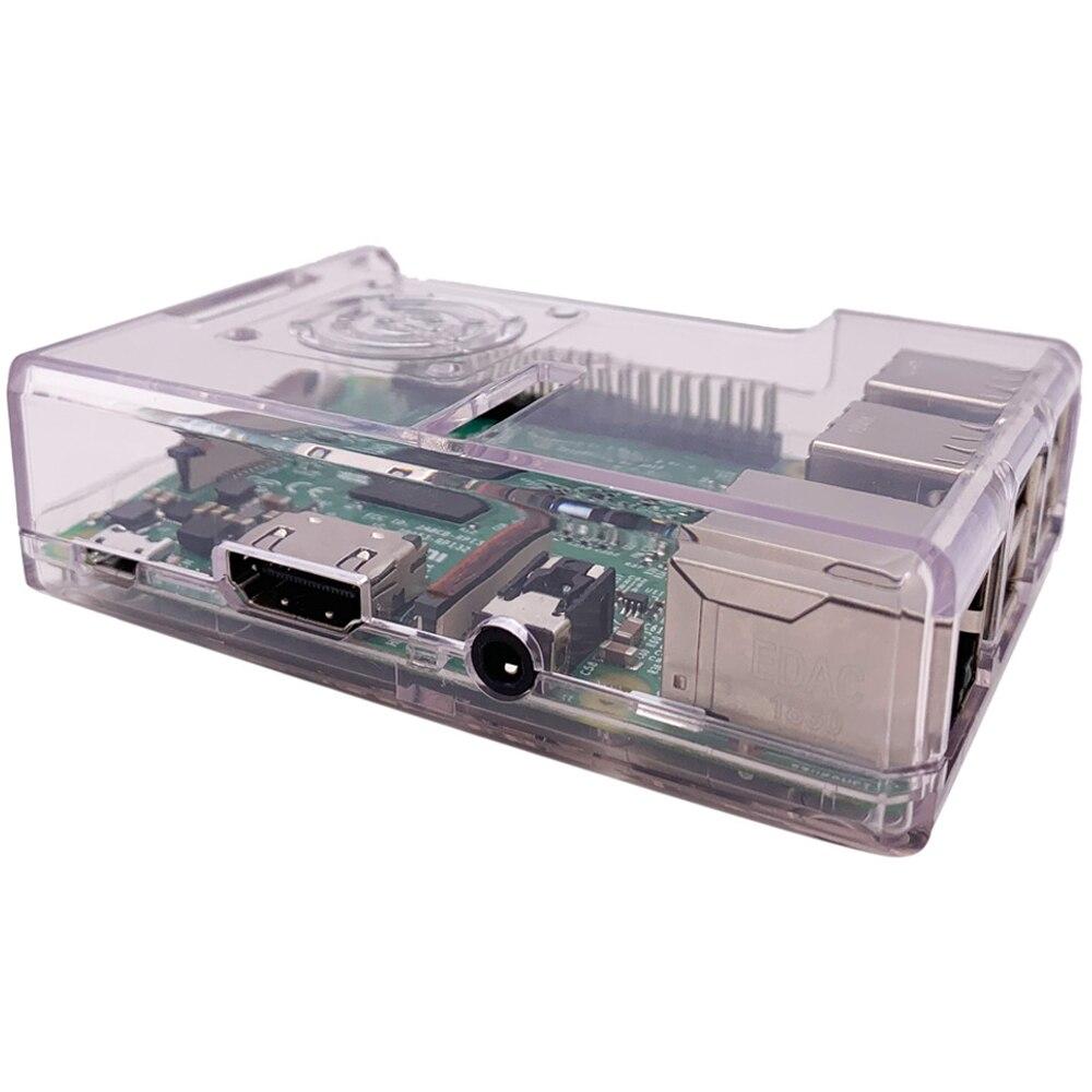 Чехол для Raspberry Pi 3 B + 4 цветный защитный чехол из АБС пластика съемный с