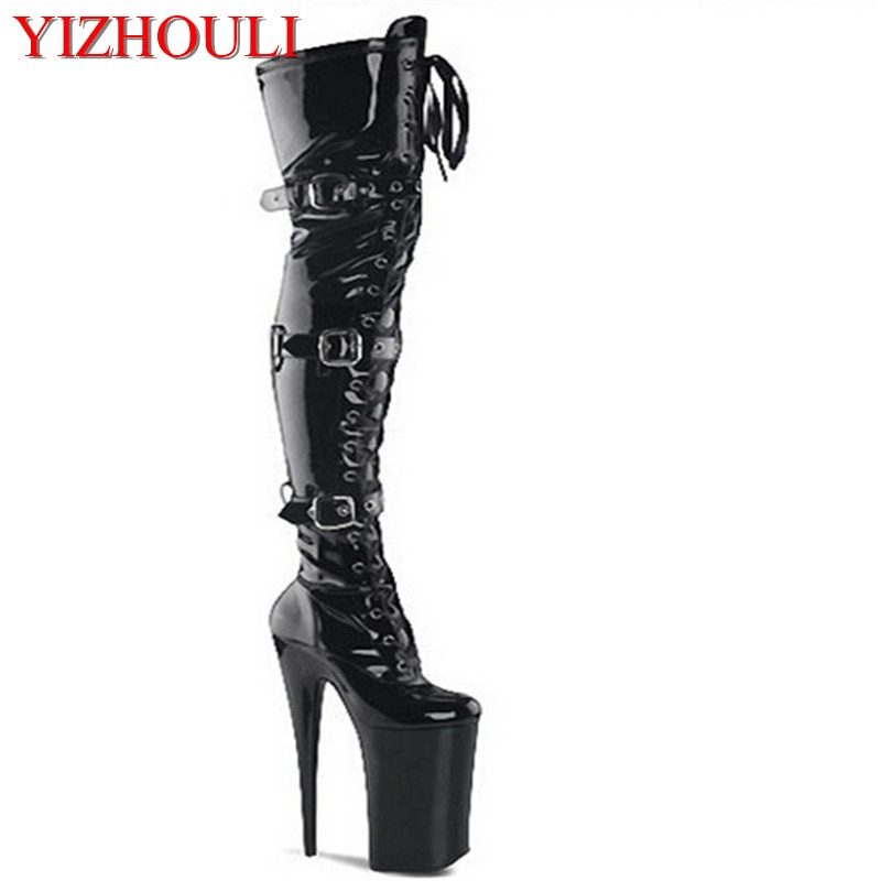 Nightclub women's shoes pole dancing boots stiletto heels 12-23cm, models stage show high heels, dancing shoes