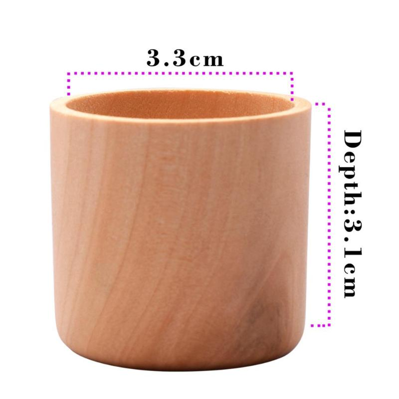 Essential Oil Storage Box Wooden Case Container Organizer Aromatherapy Single Bottle Organizer Home Storage Supplies