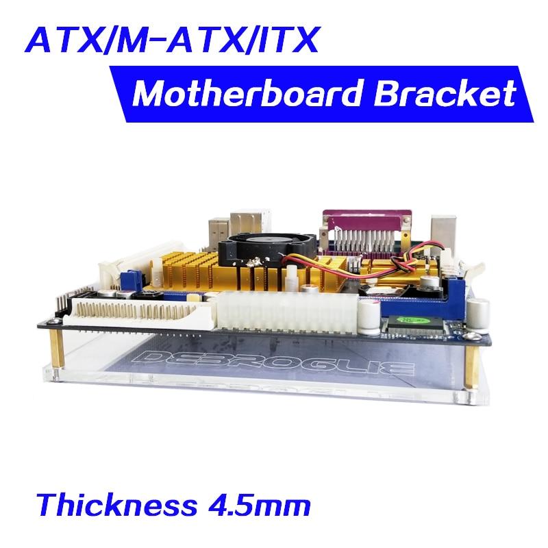 Diy PC Overclock Test Bench Open Frame For ITX MATX ATX Computer Mini PC HTPC Air Case Bracket DIY Bare Support Graphics Card
