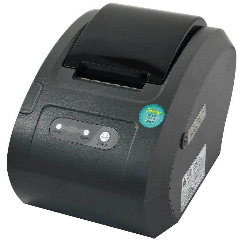 Impresora térmica de recibos automática de 58mm de gran calidad, impresora térmica de recibos, interfaz USB + Ethernet para impresora de cocina