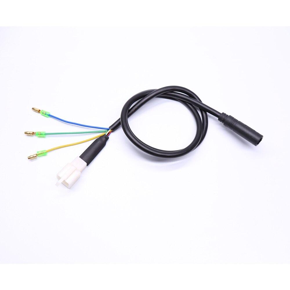 Câble moteur fil moteur connecteur moteur pour et kit de conversion de moyeu roue 80cm 180cm 9 broches Bafang gros moyeu mtor câble