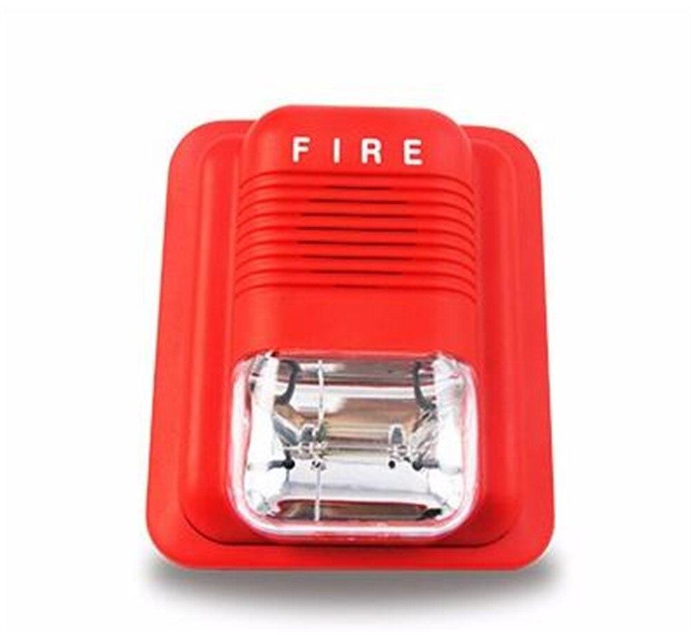 إنذار الحريق فلاش السلكية ستروب صفارات الإنذار