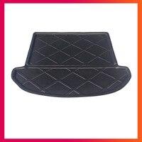 For Hyundai IX45 Seven seats 2013-2018 cargo Liner Tray Car Rear Trunk Cargo Mat Floor Sheet Carpet Mud Protective Pad