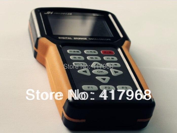 JDS2012A Ручной осциллограф 1 канал 20 МГц осциллограф с 4000 мультиметр осциллографы Scopemeter мультиметр без батареи