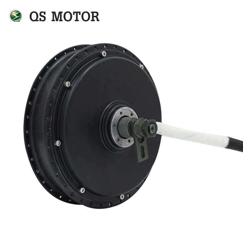 100KPH QS Motor Bicycle Spoke hub motor 3000W V3 with SVMC72150 controller and TFT speedometer for electric motorbike enlarge
