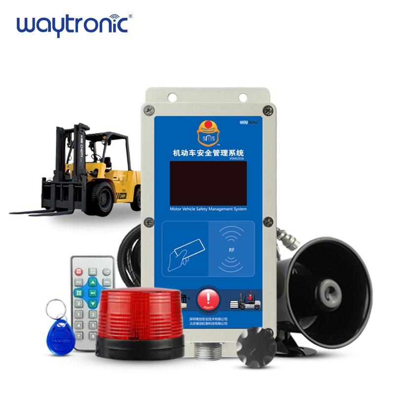 Carretilla elevadora Diesel eléctrica limitador de velocidad alarma de exceso de velocidad gestión de seguridad sistema de alarma de velocidad IC control de acceso con tarjeta
