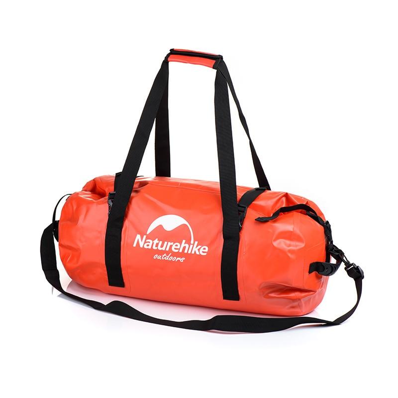 Naturehike 40L 60L 90L 120L tamaño Jumbo 500D PVC sello impermeable bolsa de senderismo bolsos de hombro Drifting bolso playa Buggy Wading