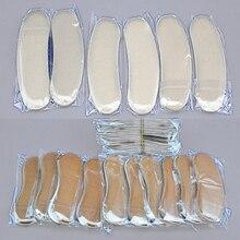 5 pares cómodos suaves almohadillas de zapatos de tacón alto con plantilla de cojín