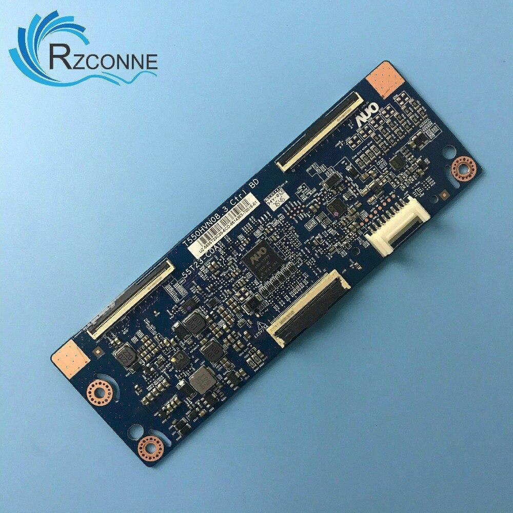 """Fonte de cartão de placa lógica para samsung 55 """"tv 55t23-c0a t550hvn08.3 t-con placa hg55ne470 55e560aar un55j5000af"""