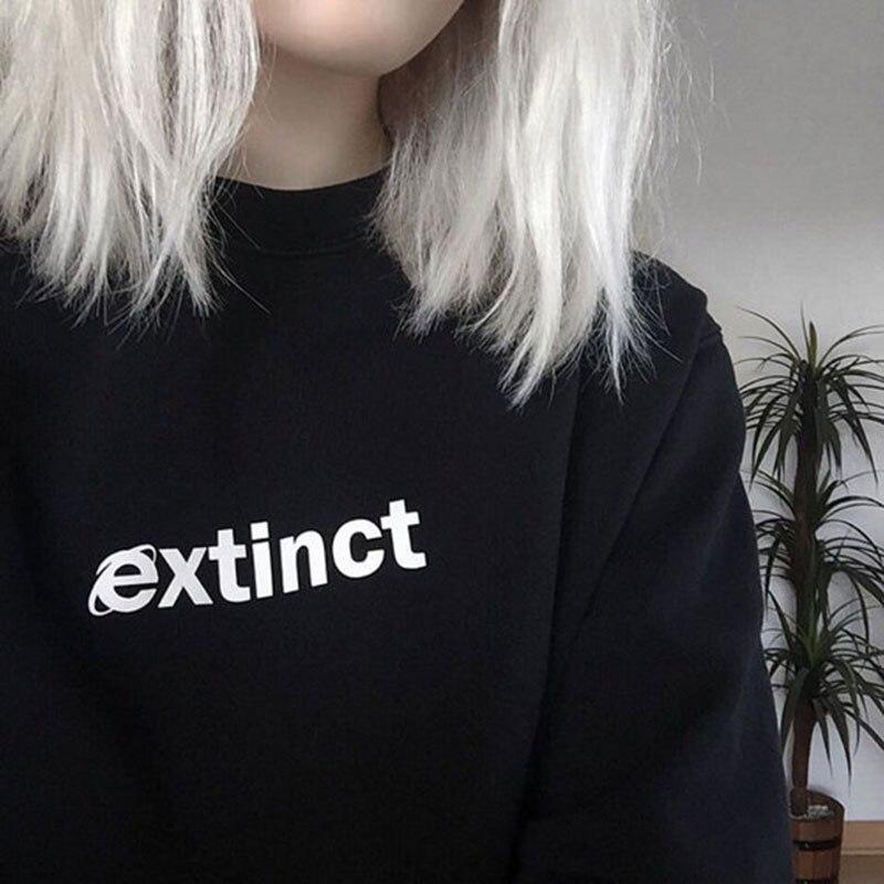Sudadera extint 90s Internet Explorer Vaporwave inspirado en Tumblr sudaderas pálido Pastel Grunge estético negro rejilla