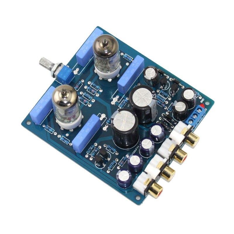 Placa de preamplificador de tubo 6J1, placa de Audio de amplificador de alta fidelidad, placa completada, X10-D de circuito AC12V-0-AC12V