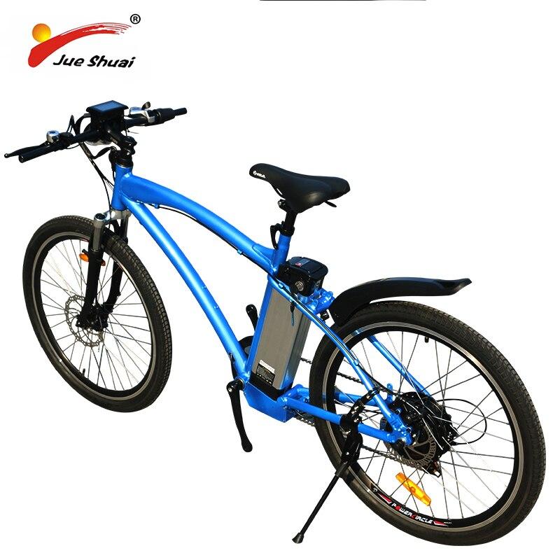 Bicicleta eléctrica de montaña, bici de 48V, 500W, batería de litio de...